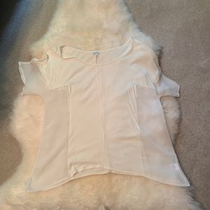 StyleMint T-Shirt sheer sides size small